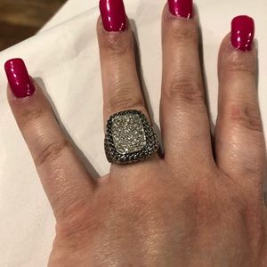 EUC PREMIER DESIGNS JEWEL ENCRUSTED RING